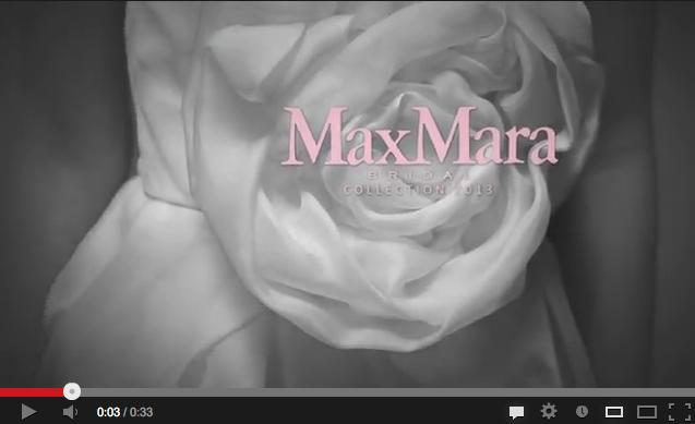 Max Mara Bridal Campaign